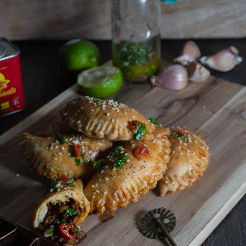 Empanadad – vürtsikad lihapirukad