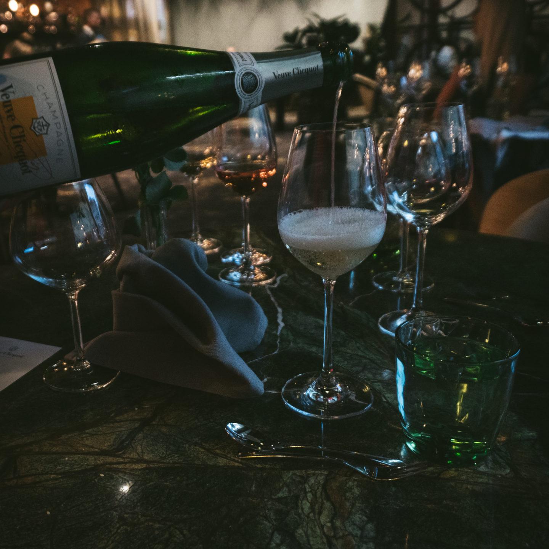 Šampanjaõhtusöök ja muljeid restoranist Joyce