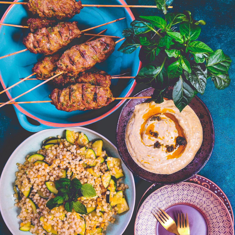 Vürtside tants taldrikul ehk natuke araabia kööki